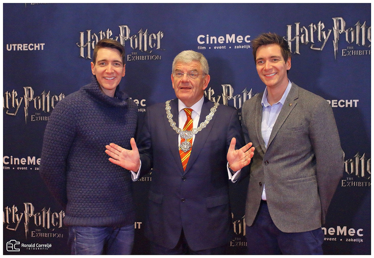 Opening Harry Potter Expo Utrecht