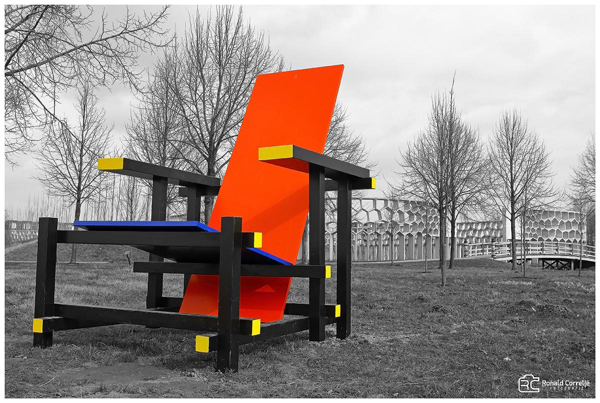 Rietveld stoel | De Stijl
